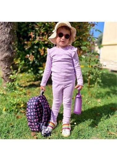 Kids A More Whitebow Tek Cırtlı Işıklı n Pu Deri Kız Çocuk Ayakkabı  Beyaz